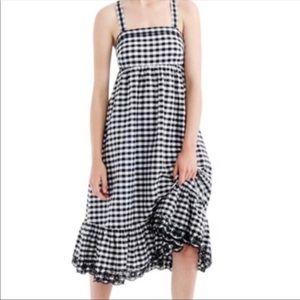 J.crew gingham dress ⭐️